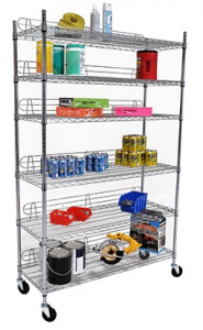 """48"""" Shelves with Wheels"""