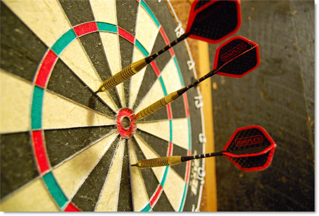 dartboard for your basement