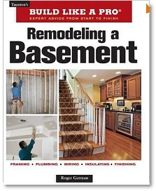 remodeling a basement book