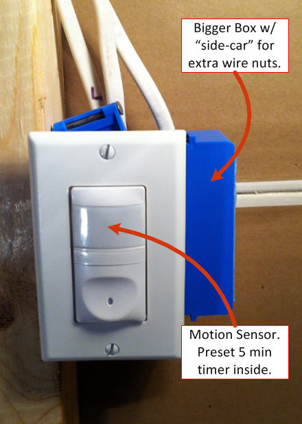 how to install a light switch final