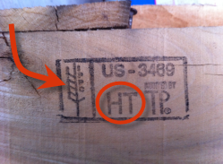 wood pallet stamp heat treated certified