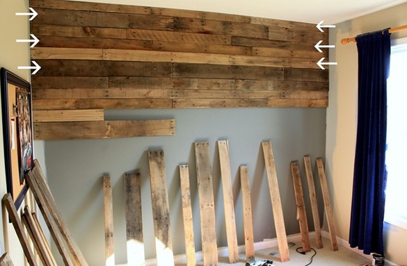Awesome Wood Pallet Wall & How It Could Have Killed Me
