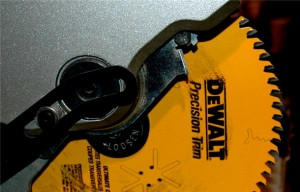use this trim blade when installing trim in your basement
