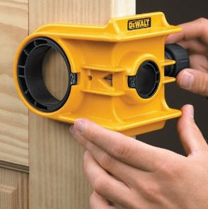 dewalt basement door lock installation kit