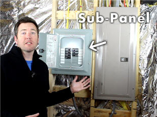 Do you need a sub panel for your basement how much will for How to size an electrical panel