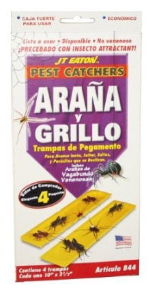 yellow sticky insect pads