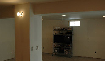 how to finish your own basement