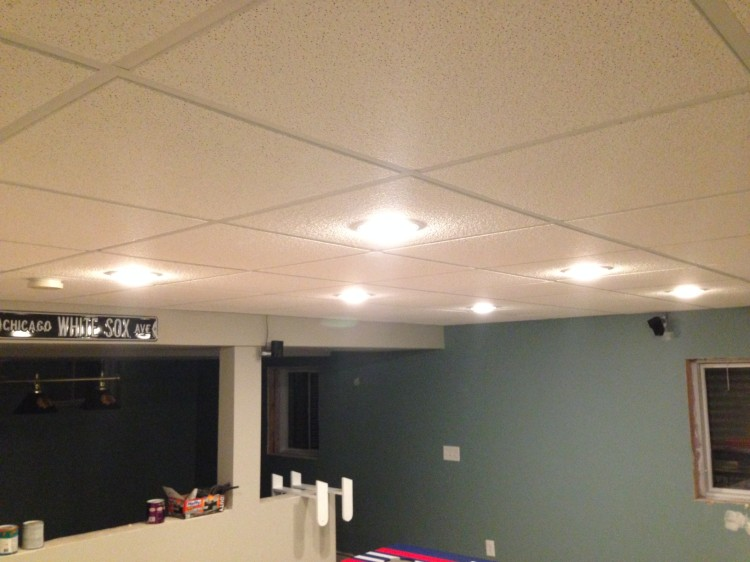basement suspended ceiling